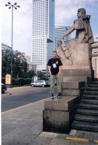 Вл.Никифоров в Варшаве.