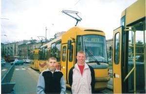 Вл.Никифоров и Ал.Рейнсалу в Варшаве.