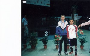 Владимир Никифоров и Бедок Палл после награждения.