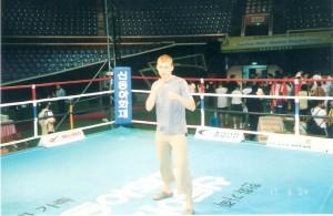 Вл.Никифоров на прощальном ужине на чемпионате Мира 2004 год.
