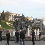 Хрещатик. Город Киев.