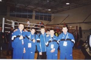 Николай Зайцев с командой Эстонии на чемпионате Увропы. Хорватия.
