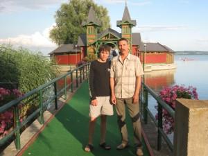 Дмитрий Иванов с тренером