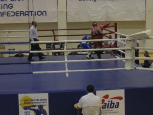 Дмитрий Лефанов на чемпионате Европы