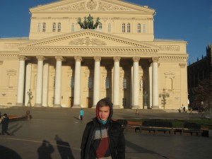 Дмитрий Лефанов у Большого театра