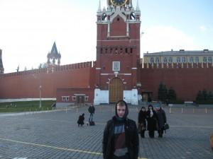 Дмитрий Лефанов на Красной площаде